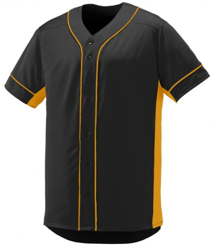 Augusta Slugger Adult Full Button Front Baseball Jersey