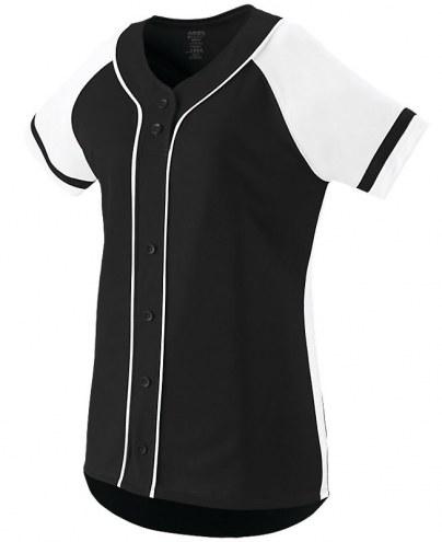 Augusta Women's/Girls' Winner Faux Full Button Front Custom Softball Jersey