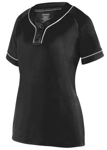 Augusta Overpower Girls' Two Button Softball Jersey