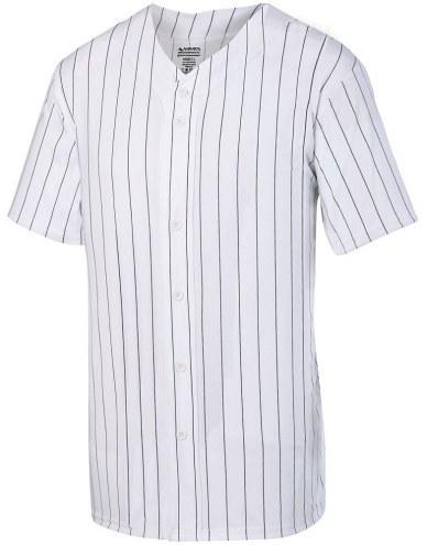 Augusta Youth Pinstripe Full Button Baseball Jersey