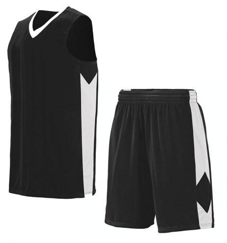 Augusta Block Out Youth Custom Basketball Uniform