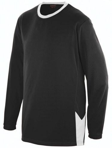Augusta Adult Block Out Long Sleeve Shirt