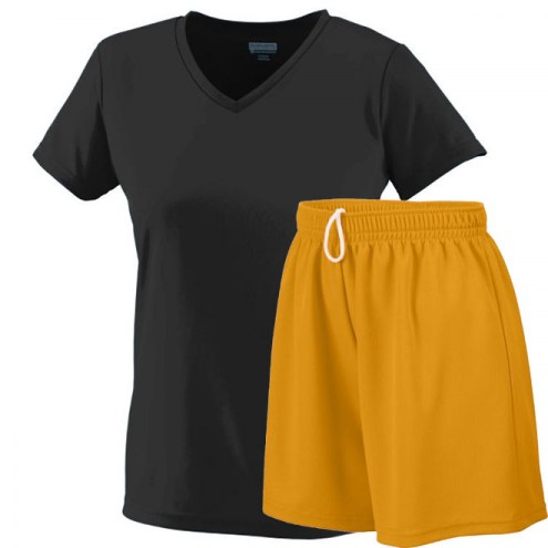 Augusta Ladies V-Neck Wicking Uniform
