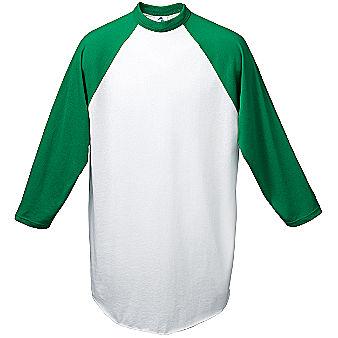 Augusta 3/4 sleeve Raglan Men's Custom Baseball Jersey