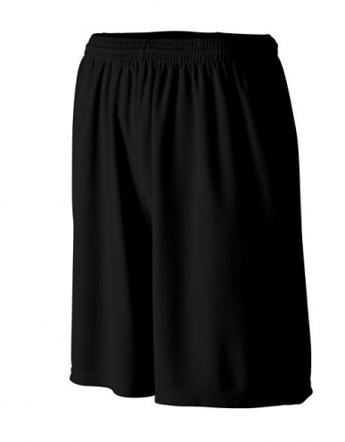 Augusta Longer Length Moisture Wicking Coach's Shorts with Pockets