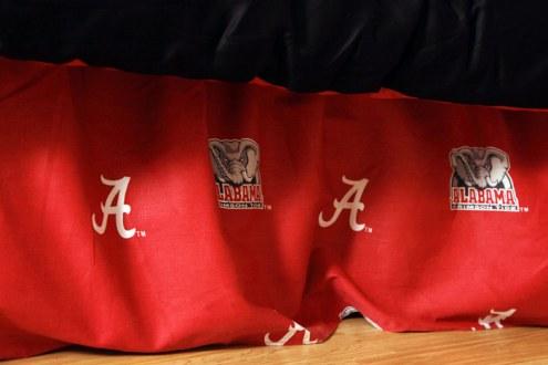 Alabama Crimson Tide Bed Skirt