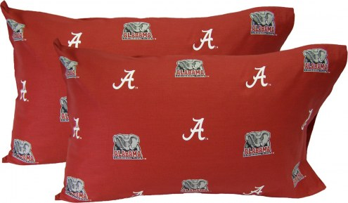 Alabama Crimson Tide Printed Pillowcase Set
