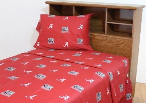 Alabama Crimson Tide Dark Bed Sheets