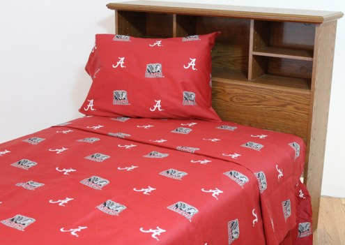 Alabama Crimson Tide Dark Bed Sheets