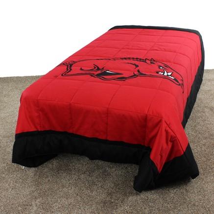 Arkansas Razorbacks Light Comforter