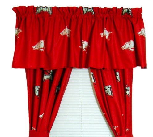 Arkansas Razorbacks Curtains