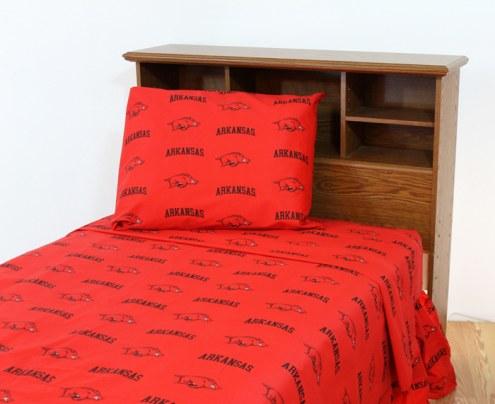 Arkansas Razorbacks Dark Bed Sheets