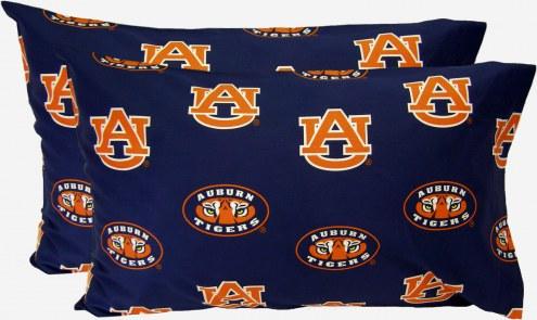Auburn Tigers Printed Pillowcase Set