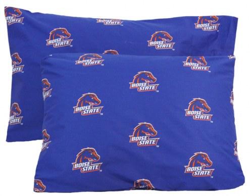 Boise State Broncos Printed Pillowcase Set