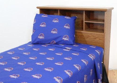 Boise State Broncos Dark Bed Sheets