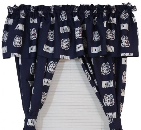 Connecticut Huskies Curtains