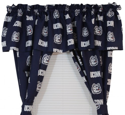 Connecticut Huskies Curtains