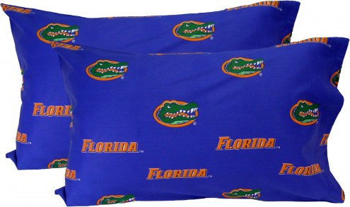 Florida Gators Printed Pillowcase Set
