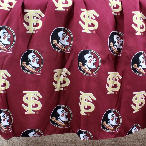 Florida State Seminoles Bed Skirt