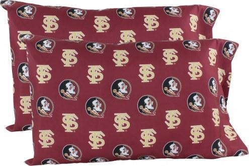 Florida State Seminoles Printed Pillowcase Set