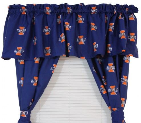 Illinois Fighting Illini Curtains
