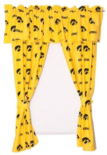 Iowa Hawkeyes Curtains