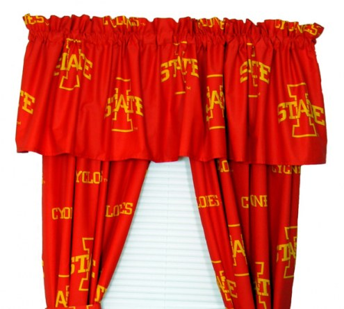 Iowa State Cyclones Curtains