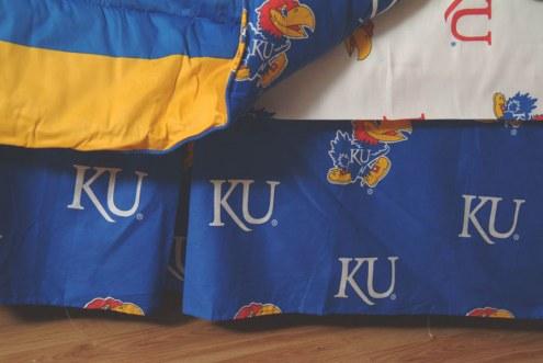 Kansas Jayhawks Bed Skirt