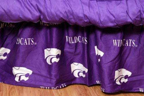 Kansas State Wildcats Bed Skirt