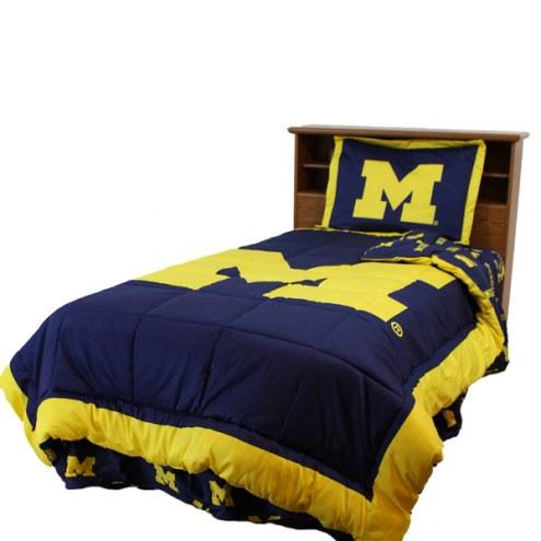 Michigan Wolverines Comforter Set