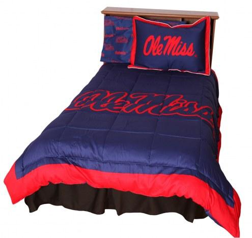 Mississippi Rebels Comforter Set