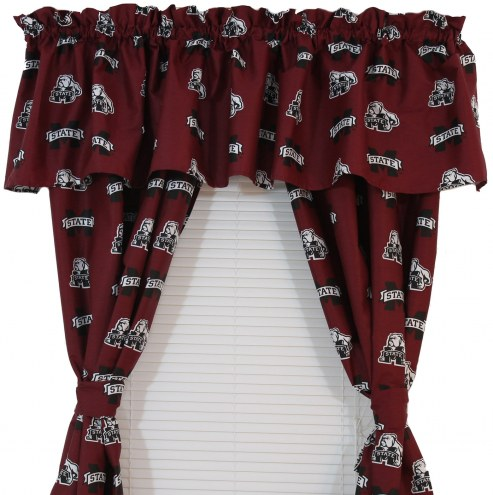 Mississippi State Bulldogs Curtains