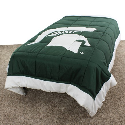 Michigan State Spartans Light Comforter