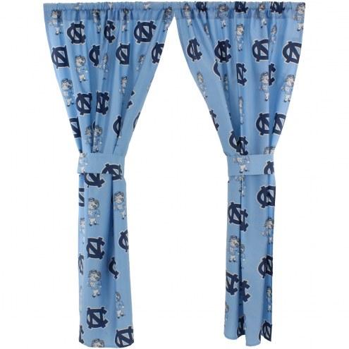 North Carolina Tar Heels Curtains