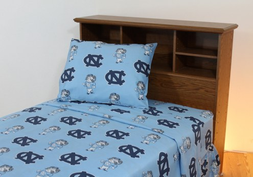 North Carolina Tar Heels Dark Bed Sheets