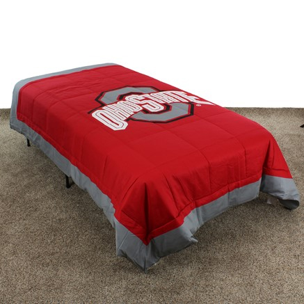 Ohio State Buckeyes Light Comforter