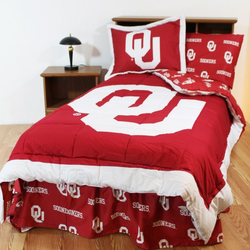 Oklahoma Sooners Bed in a Bag