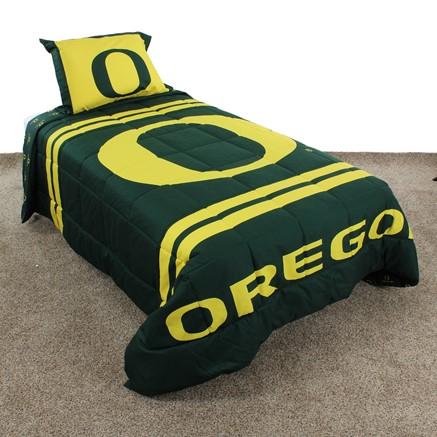 Oregon Ducks Reversible Comforter Set