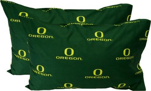 Oregon Ducks Printed Pillowcase Set