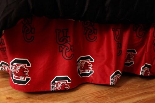 South Carolina Gamecocks Bed Skirt