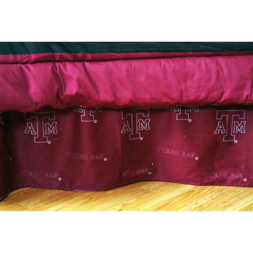 Texas A&M Aggies Bed Skirt