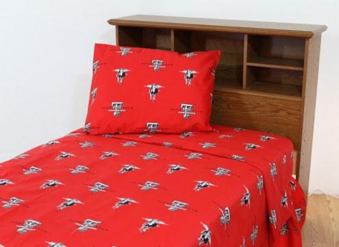 Texas Tech Red Raiders Dark Bed Sheets