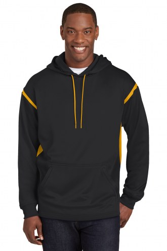 Sport-Tek Tech Fleece Colorblock Men's Custom Hooded Sweatshirt