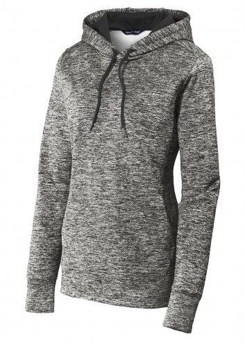 Sport-Tek PosiCharge Electric Heather Women's Custom Fleece Hooded Pullover