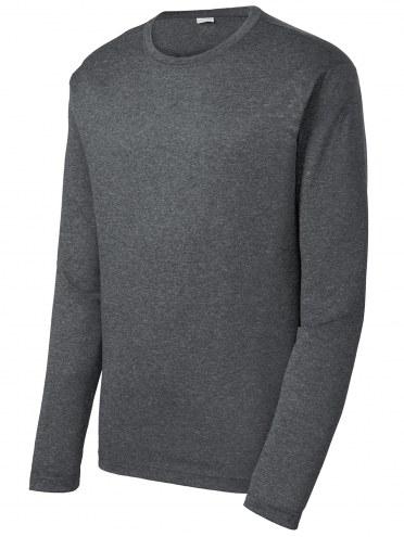 Sport-Tek Heather Contender Men's Custom Long Sleeve Shirt