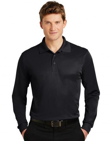 Sport-Tek Micropique Sport-Wick Men's Custom Long Sleeve Polo Shirt