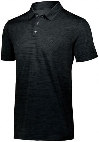 Holloway Striated Men's Custom Polo Shirt