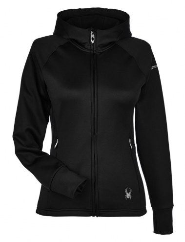 Spyder Women's Hayer Full Zip Z Hooded Custom Fleece Jacket