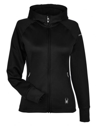 Spyder Women's Hayer Full Zip Z Hooded Custom Fleece Jacket