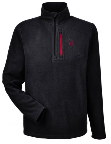 Spyder Men's Transport Quarter Zip Custom Fleece Pullover